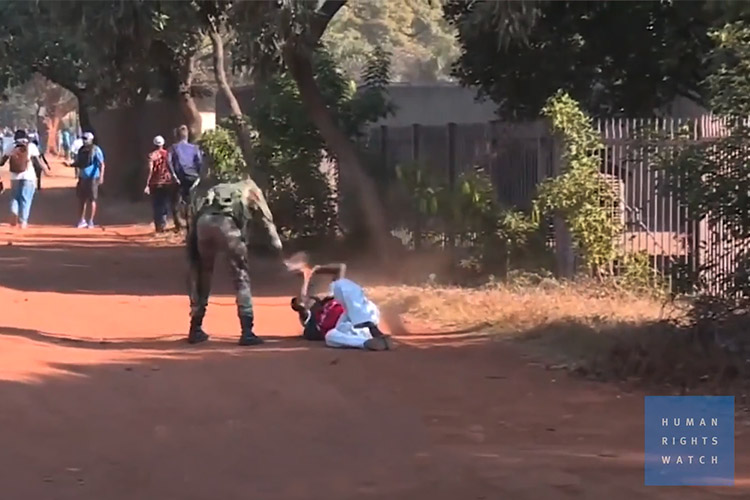 According to Human Rights Watch, 17 people were killed and 17 acts of rape were committed by police and soldiers in Zimbabwe during a January 2019 national strike. Since the arrival of COVID-19, organizations are seeing a sharp increase in attacks against women, with little accountability.