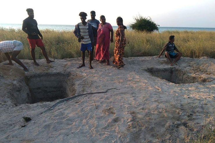 Authorities have dug graves to bury COVID-19 victims after the government reversed its internationally-condemned policy of forced cremations of deceased Muslims. Although cremations are no longer mandatory, some Muslims believe Sinhala officers deliberately obstruct conducting last rites on time.